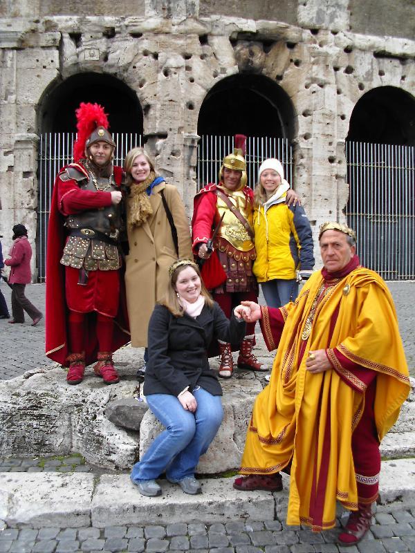 Gladiators & Emperor