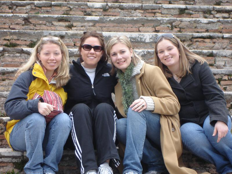 Christine, Kate, Alexandra, Angie