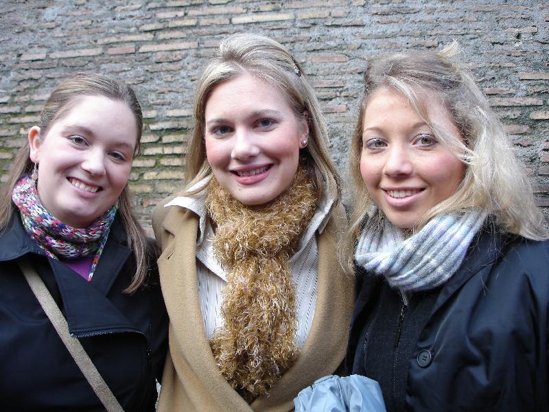 Angela, Alexandra, Christine
