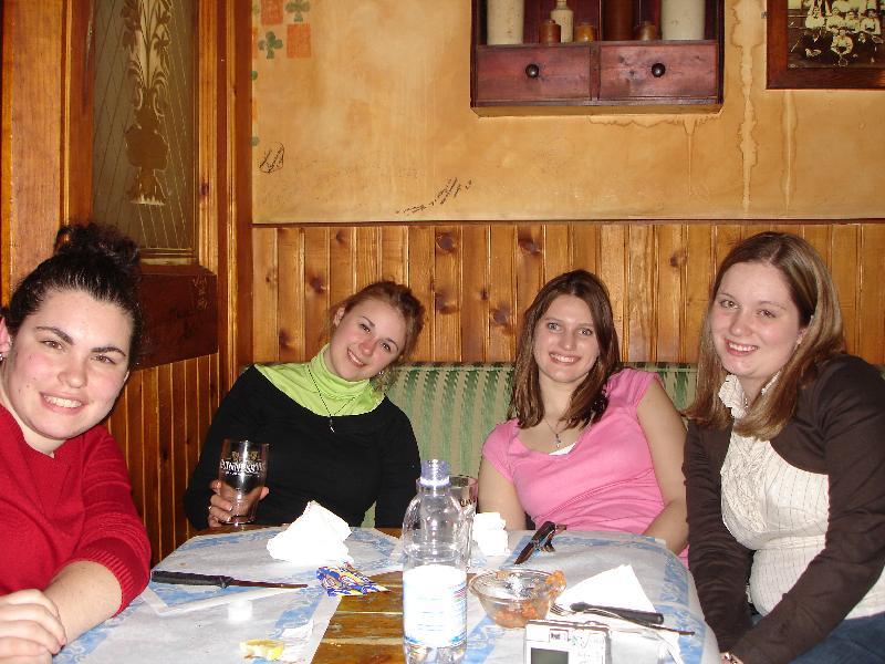 Katie, Giuliangela, Jackie, Angela