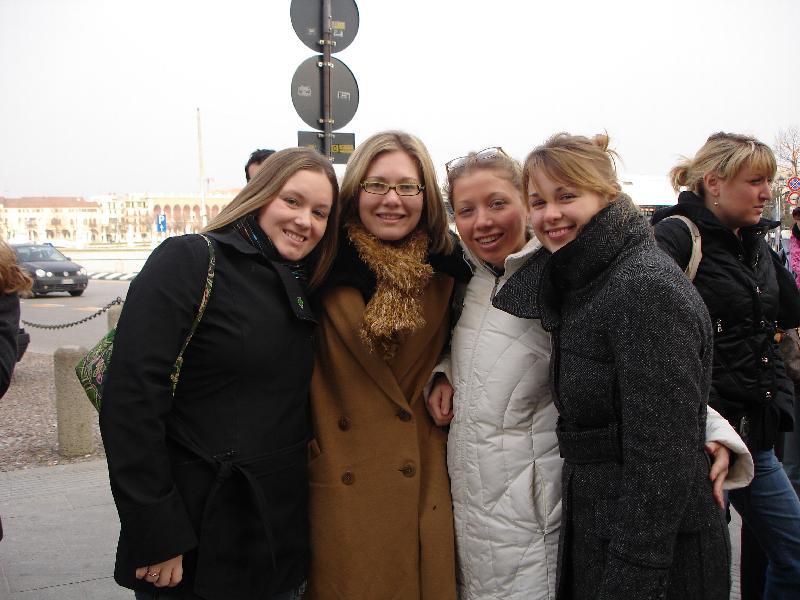Angela, Alexandra, Christine, Giuliangela
