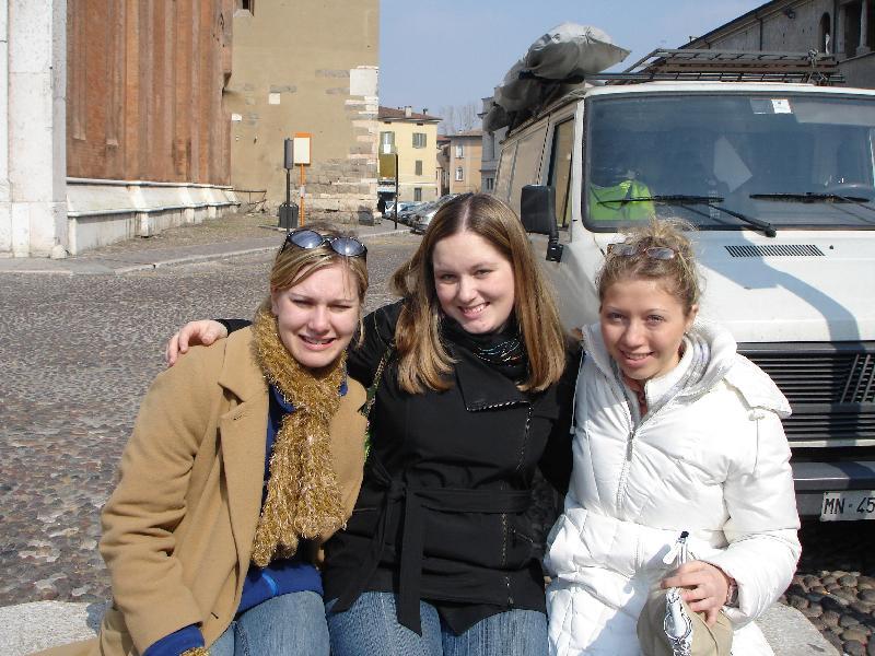 Alexandra, Angela, Christine